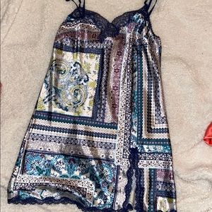 VS lace & silky cami